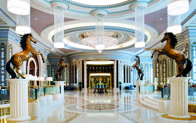 <p>The Ritz Carlton Hotel</p>